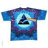 Pink Floyd - Tie Dye Space Dark Side of the Moon T-Shirt