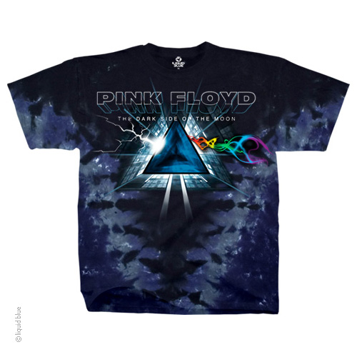 Pink Floyd Smokey Tie Dye Dark Side Of The Moon T Shirt