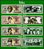 Beatles - Set of 4 Million Dollar Novelty Bills