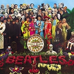 The Beatles - Sgt. Peppers Album Cover Button