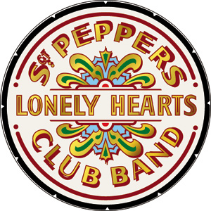 The Beatles Sgt Peppers Lonely Hearts Club Button