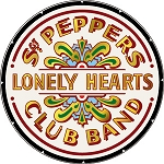 The Beatles - Sgt. Peppers Lonely Hearts Club Button