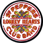 The Beatles - Sgt. Peppers Drumhead Patch
