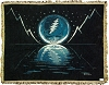 Grateful Dead - Blue Moon Woven Blanket