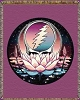 Grateful Dead - Lotus Steal Your Face Woven Blanket