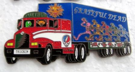 Furthur Truck Collectors Pin