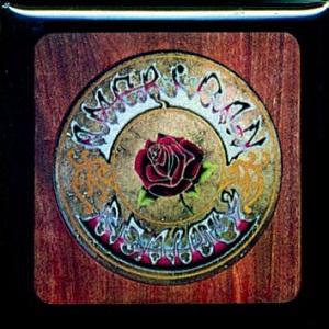 Grateful Dead American Beauty Button