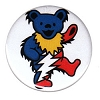 Grateful Dead - Dancing Bear Bolt Button