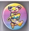 Grateful Dead - Celestial Dancing Bear Button
