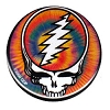 Grateful Dead - Tie Dye Steal Your Face Button