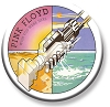 Pink Floyd - Wish You Were Here Logo Pinback Button