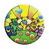 Grateful Dead - Sunshine Dancing Bears Button