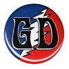 Grateful Dead - GD Bolt Button