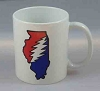 Grateful Dead - Illinois Deadhead Coffee Mug