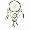 Five Circle Black Dreamcatcher