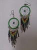 Green Dream Rasta Earrings