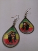 Bob Marley - Rasta Smile Earrings