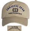 Grateful Dead - Fillmore Auditorium San Francisco Hat