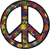 Summer of Love Peace Sign Patch
