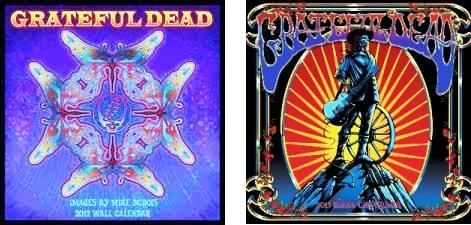Grateful Dead 2012 & 2013 Calendar