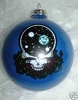 Grateful Dead - Space Your Face Blue Ornament