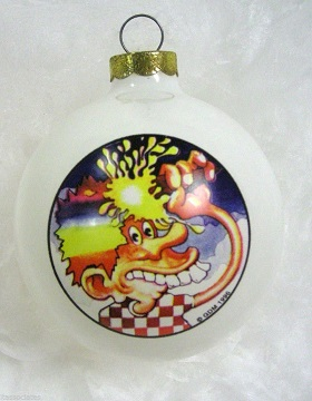 Grateful Dead Tour Bus Ornament