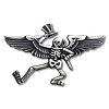 Grateful Dead - Dancing Skeleton Pilot Wings Pin