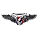 Grateful Dead - SYF Small Wings Pin
