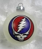 Grateful Dead - SYF White Ornament