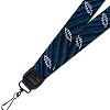Grateful Dead - Indigo Bolts Lanyard for ID or Keys