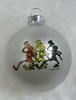 Grateful Dead - Dancing Skeletons Holiday Ornament