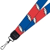 Grateful Dead - Lightning Bolt Lanyard for ID or Keys