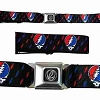 Grateful Dead - Kids SYF Mini Lightning Bolts Seatbelt Belt