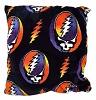 Grateful Dead - Steal Your Face Fleece Throw Pillow