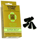 Gonesh - Patchouly Incense Cones