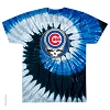 Grateful Dead - Chicago Cubs Steal Your Face Tie Dye T-Shirt