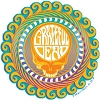 Grateful Dead - Orange Sunshine Steal Your Face Sticker