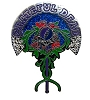 Grateful Dead - Rose Vines Pin by Mike DuBois