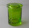 Translucent Colored Glass 3 oz Stash Jar