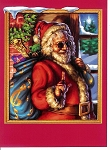 Grateful Dead - Jerry Garcia Christmas Card