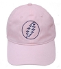 Grateful Dead - Lightning Bolt Pink Hat