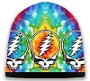 Grateful Dead - Tie Dye Steal Your Face Knit Beanie Hat