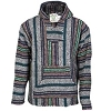 Multi Color Striped Baja Hoodie