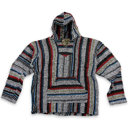 Baja Hoodie Pullover in Multicolors from Sunshine Daydream Chicago