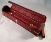 Red Coffin Incense Burner and Storage Box