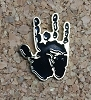 Jerry Garcia - Handprint Collectible Pin