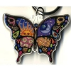Night/Day Butterfly Keychain By Dan Morris