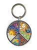 Dan Morris Peace Sign Keychain