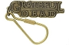 Grateful Dead -  Brass Keychain