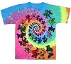 Grateful Dead - Spiral Bears Youth Tie Dye T-Shirt